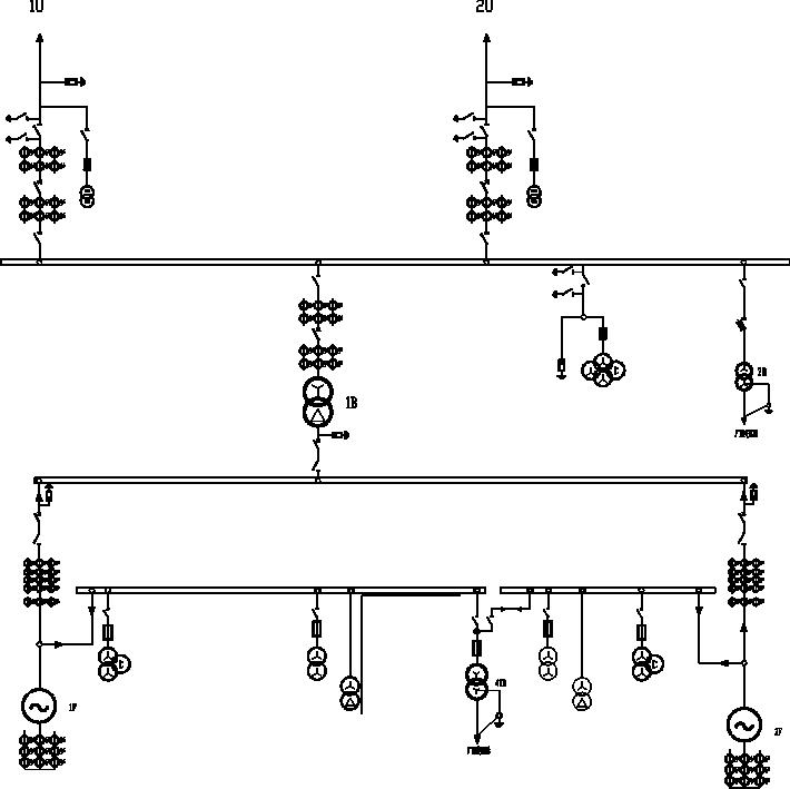 单柏交流自耦调压电路图
